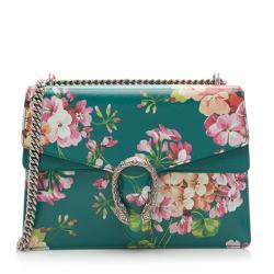 Gucci Leather Blooms Dionysus Medium Shoulder Bag