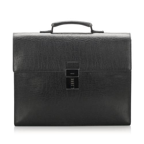 Gucci Leather Briefcase