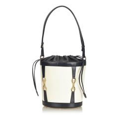 Gucci Leather Bucket Bag