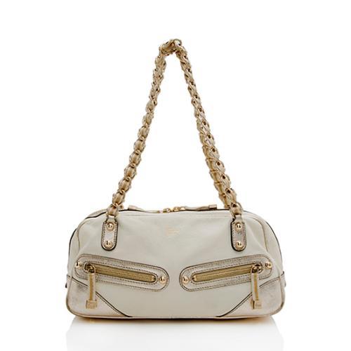 Gucci Leather Capri Satchel