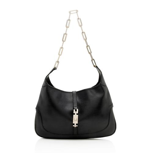 Gucci Leather Chain Jackie Shoulder Bag