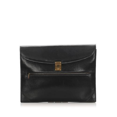 Gucci Leather Clutch Bag