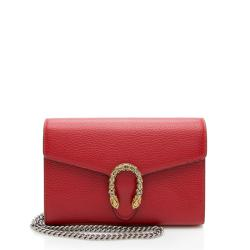 Gucci Leather Dionysus Chain Wallet