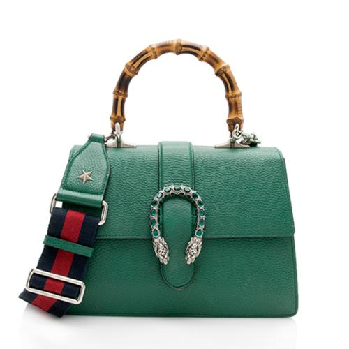 Gucci Leather Dionysus Medium Top Handle Bag