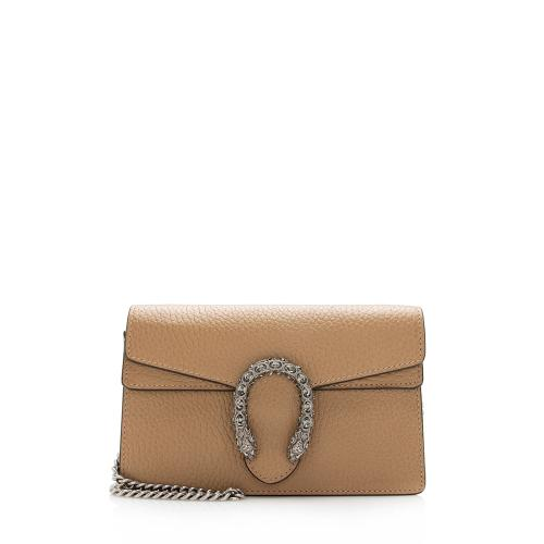 Gucci Leather Dionysus Super Mini Bag