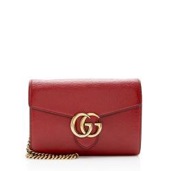 Gucci Leather GG Marmont Mini Chain Bag - FINAL SALE