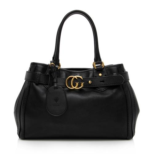 Gucci Leather GG Running Medium Tote