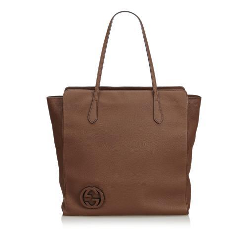 Gucci Leather GG Tote
