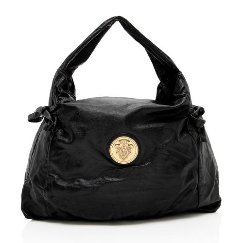 Gucci Leather Hysteria Medium Hobo