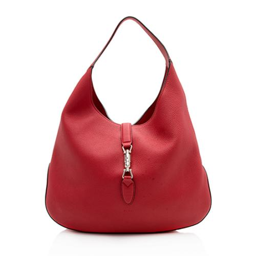 Gucci Leather Jackie Hobo