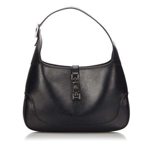 Gucci Leather Jackie Shoulder Bag