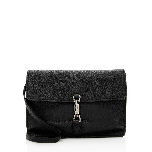 Gucci Leather Jackie Soft Convertible Mini Bag
