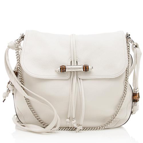 Gucci Leather Jungle Large Shoulder Bag - FINAL SALE