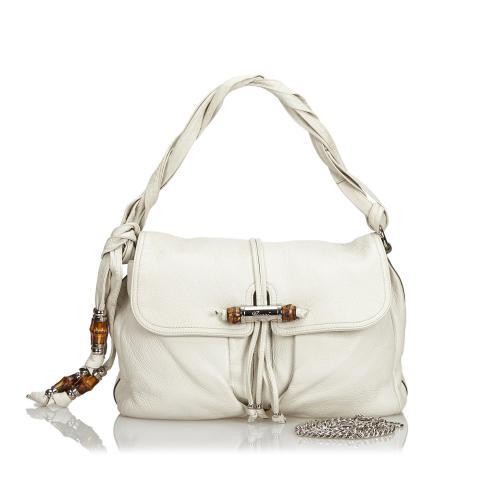 Gucci Leather Jungle Shoulder Bag