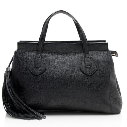 Gucci Leather Lady Tassel Tote