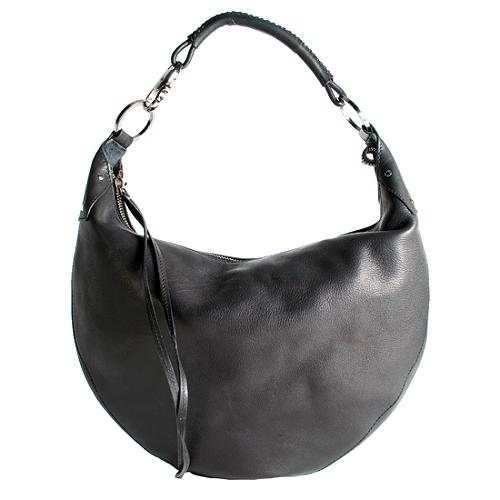 Gucci Leather Large Hobo Handbag