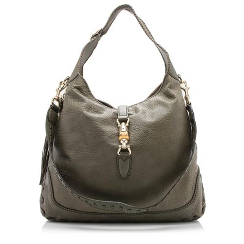 Gucci Leather New Jackie Hobo