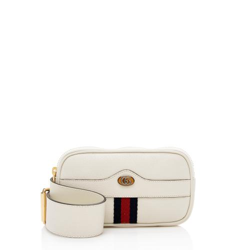 Gucci Leather Ophidia Belt Bag - Size 30 / 75