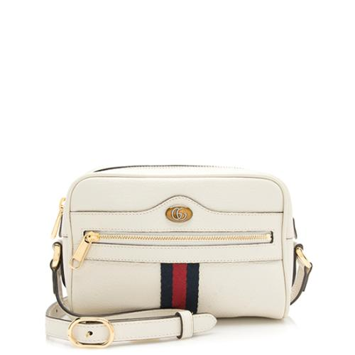 Gucci Leather Ophidia Mini Bag