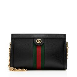 Gucci Leather Ophidia Small Shoulder Bag