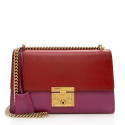 Gucci Leather Padlock Medium Shoulder Bag