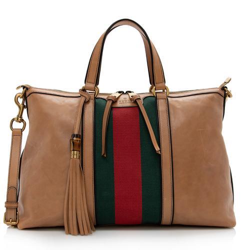 Gucci Leather Rania Tote