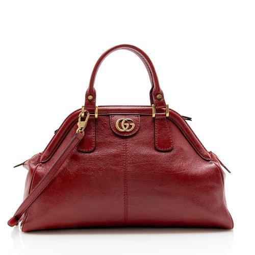 Gucci Leather Re(belle) Medium Top Handle Bag