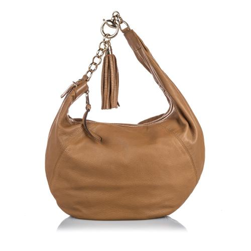 Gucci Leather Sienna Hobo