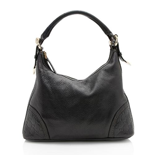 Gucci Leather Signoria Medium Hobo