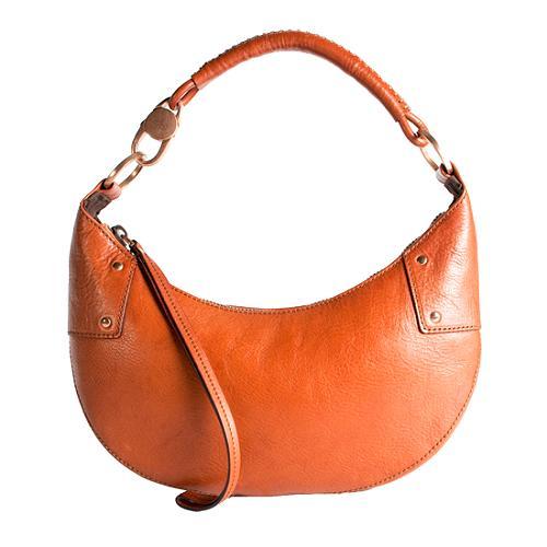 Gucci Leather Small Hobo Handbag