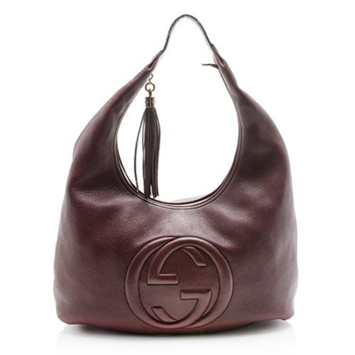 Gucci Leather Soho Large Hobo