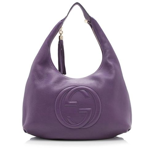 Gucci Leather Soho Large Hobo