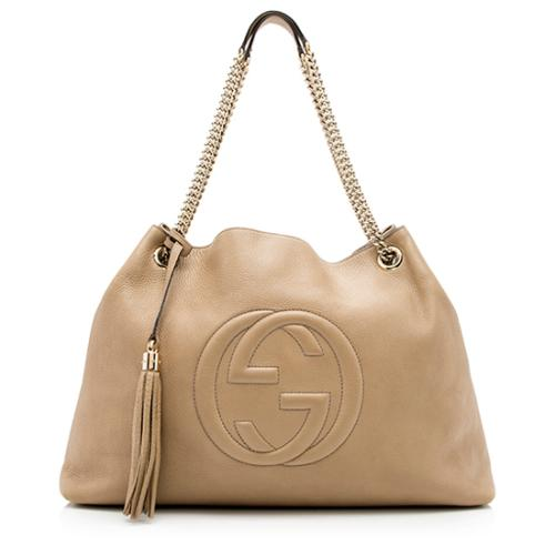 Gucci Leather Soho Large Shoulder Bag