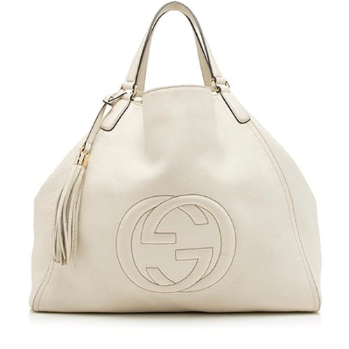 Gucci Leather Soho Large Tote