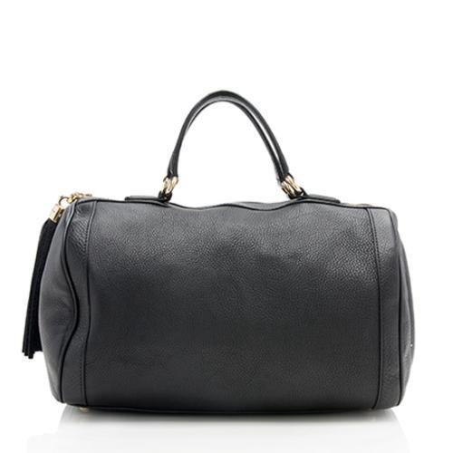 Gucci Leather Soho Medium Boston Bag