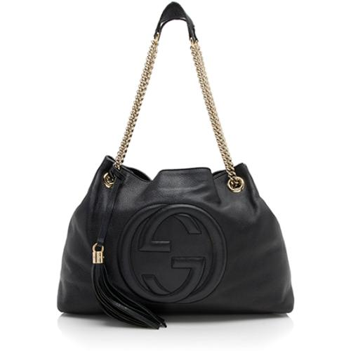 Gucci Leather Soho Medium Shoulder Bag - FINAL SALE