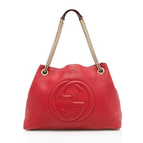 Gucci Leather Soho Medium Shoulder Bag - FINAL SALE