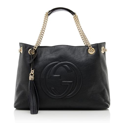 Gucci Leather Soho Medium Shoulder Bag