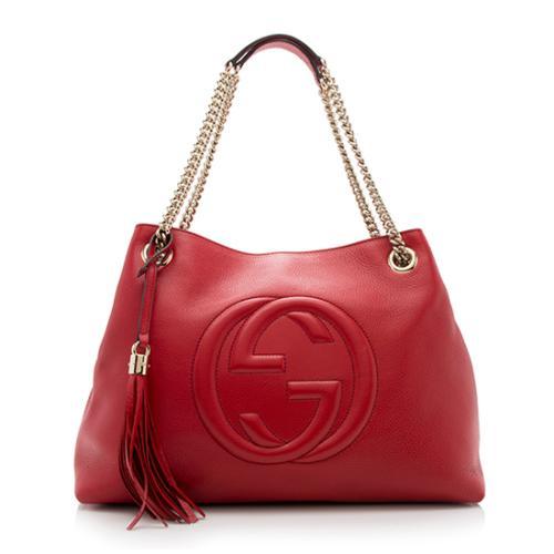 Gucci Leather Soho Medium Shoulder Bag
