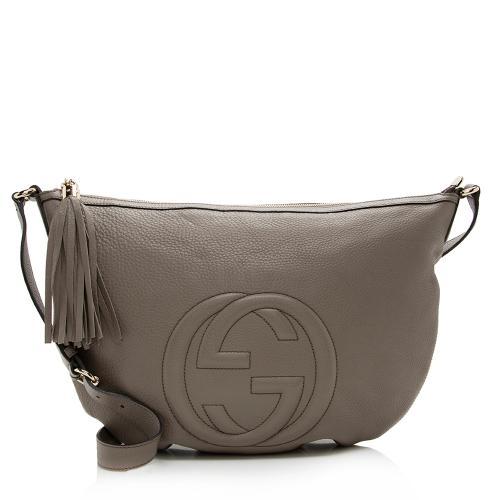 Gucci Leather Soho Messenger Bag