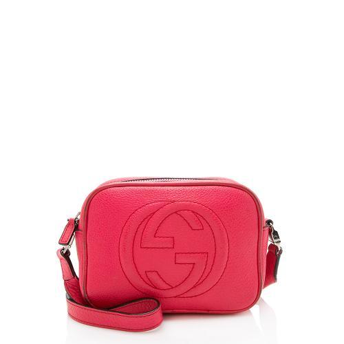 Gucci Leather Soho Mini Messenger Bag