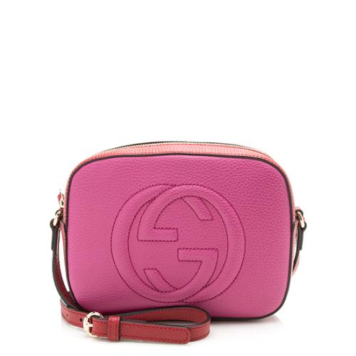 Gucci Leather Soho Shoulder Bag