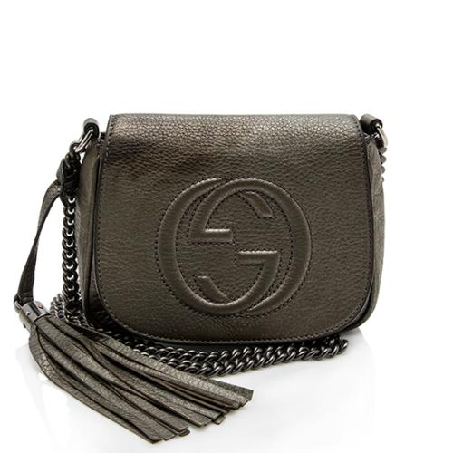 Gucci Leather Soho Small Chain Bag