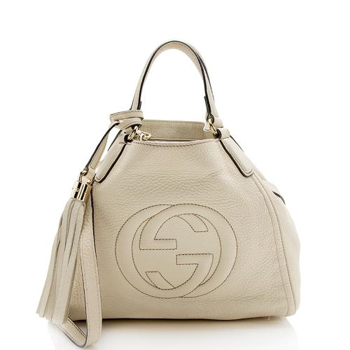 Gucci Leather Soho Small Tote