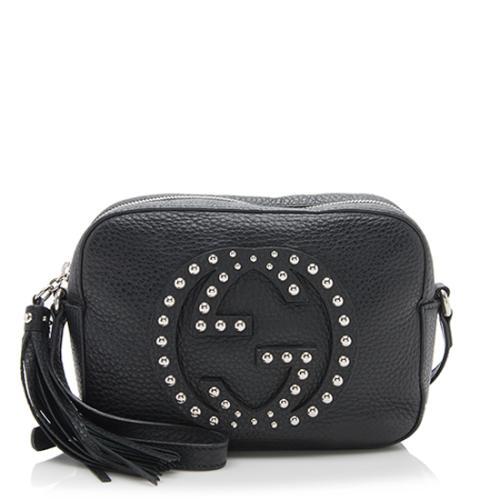 Gucci Leather Soho Studded Disco Bag