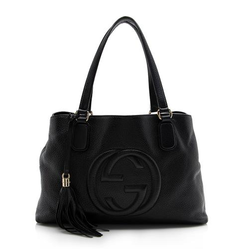 Gucci Leather Soho Working Tote