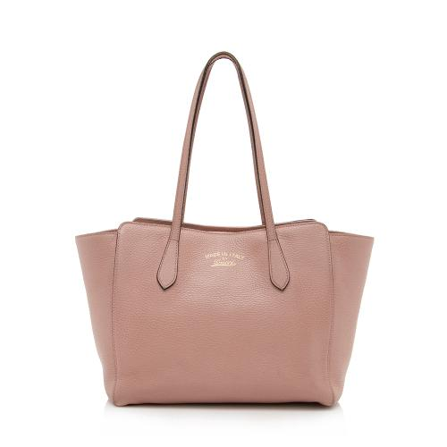 Gucci Leather Swing Small Tote