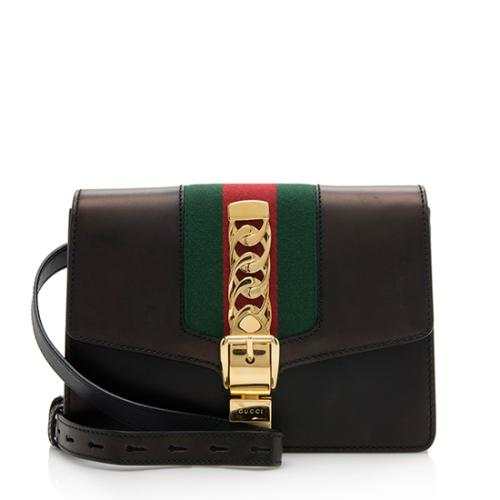 Gucci Leather Sylvie Belt Bag - Size 95