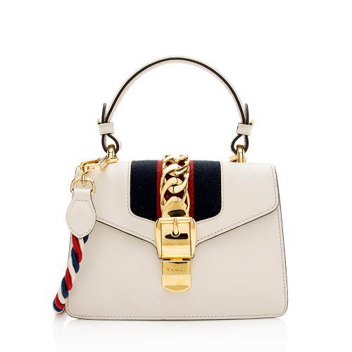 Gucci Leather Sylvie Mini Bag