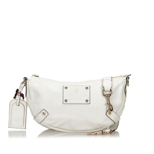 Gucci Leather Voyager Shoulder Bag